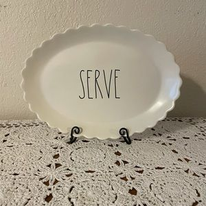Rae Dunn SERVE Platter.